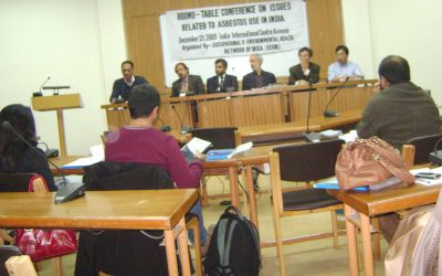 Round Table conference on Asbestos, Delhi, 2009