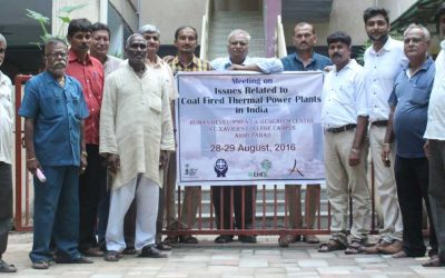Meeting on Issues Related to Coal Fired Thermal Power Plants in India, 28-29 August 2016