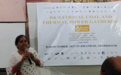 5th National Coal and Thermal Power Plant Gathering, October 2017, Dhanbad