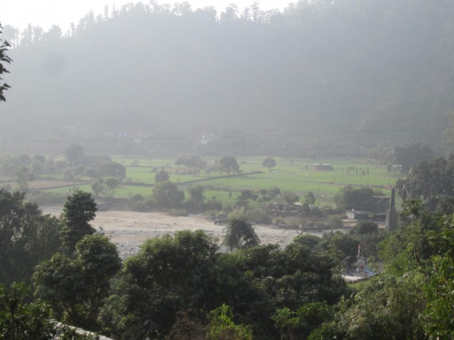 Irrigated Fields along Lodhiyan River