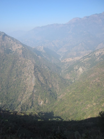 River Ramganga Meandering the Valley