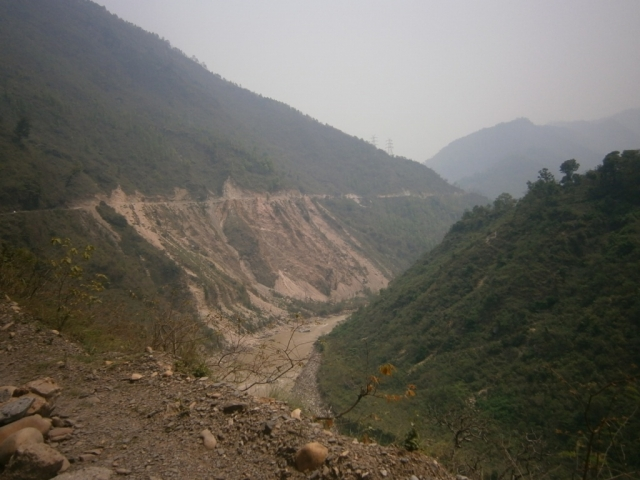 A Chronic Landslide Prone Spot