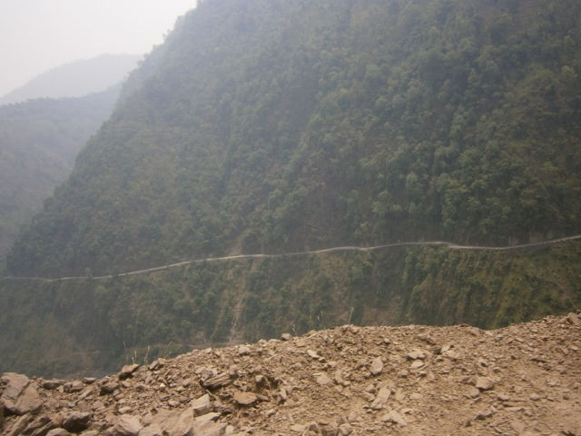 A Road in Nepal
