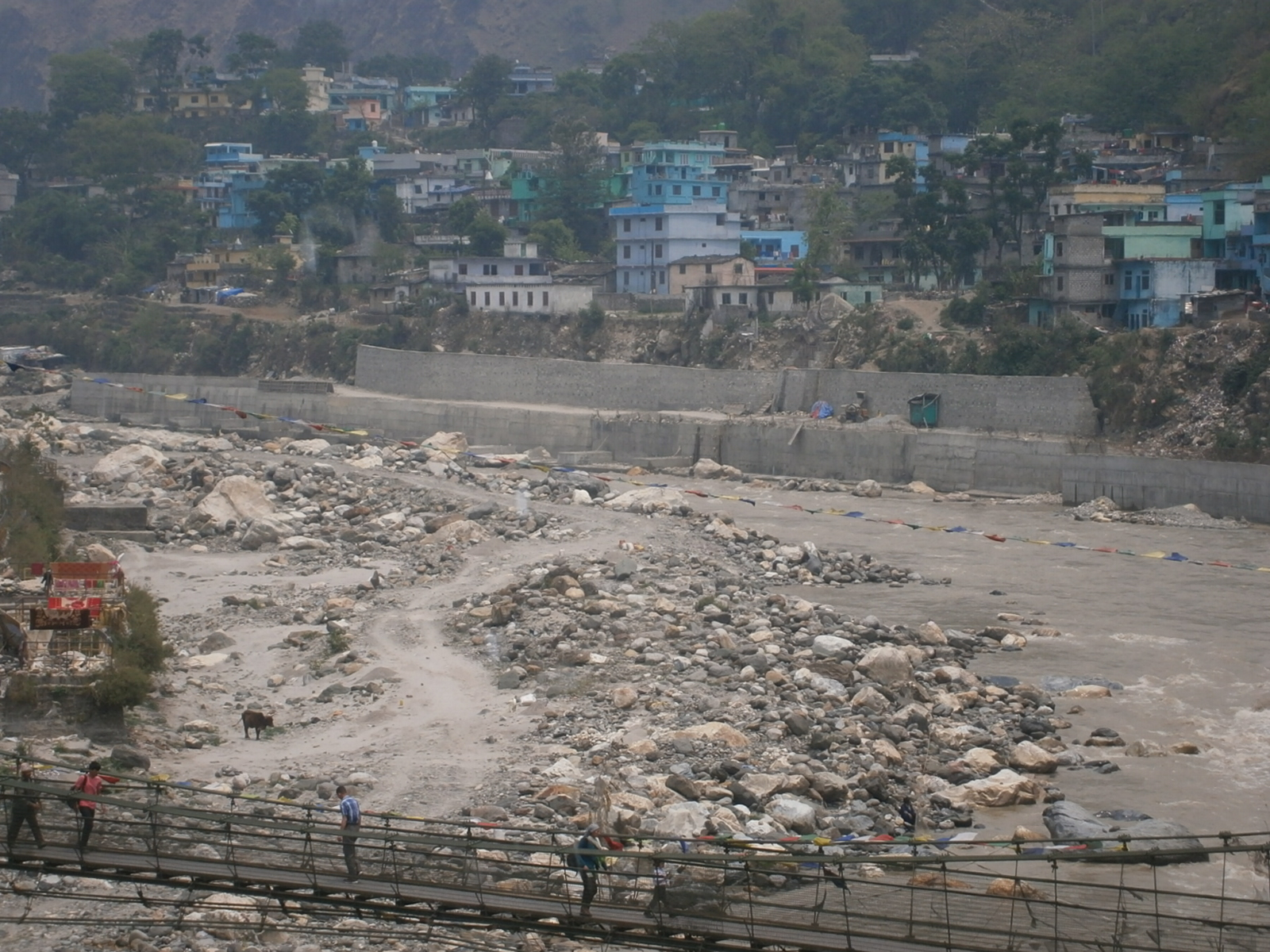 Deep Meander & Protection Wall (Darchula)