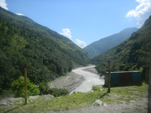 Dhauliganga meandering its way