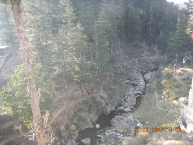 Lohawati flowing in the backyard of Lohaghat