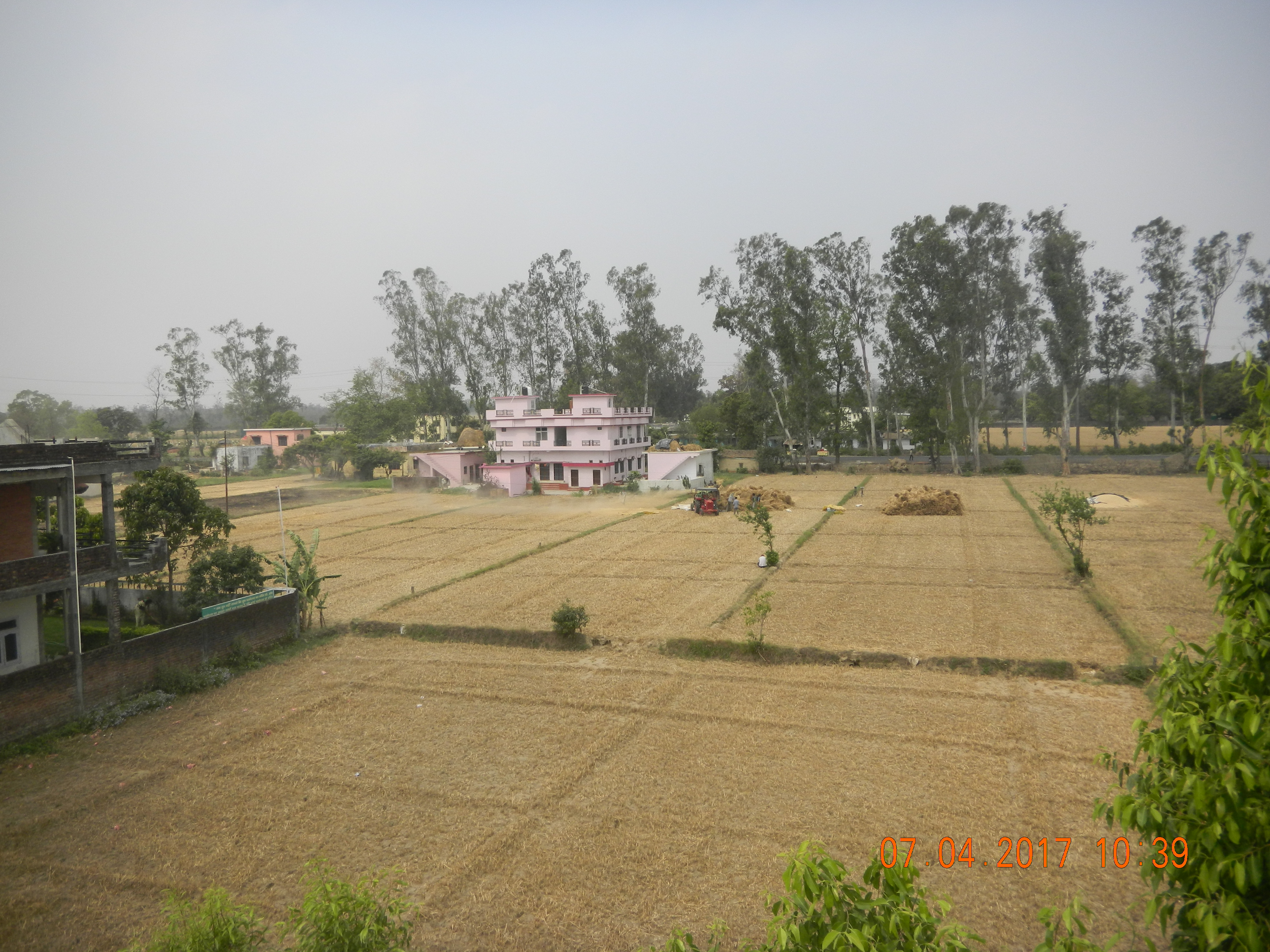 Mechanisation and land holding sizes increase in Terai of Sharda
