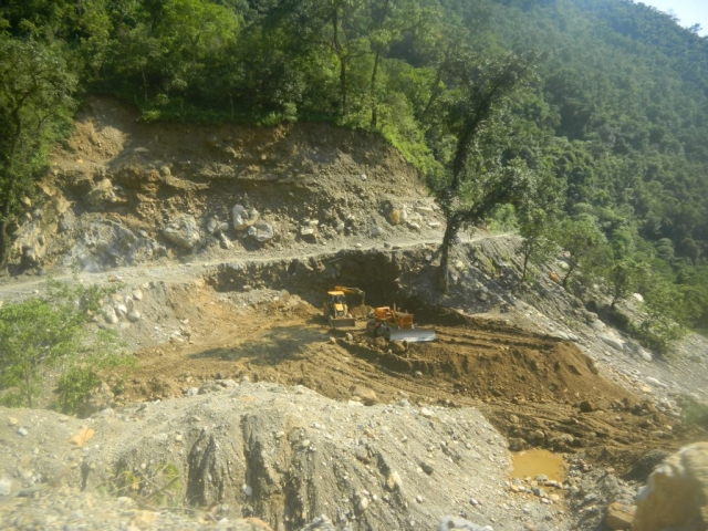 Strengthening and WIdening of Bend along the Gauriganga